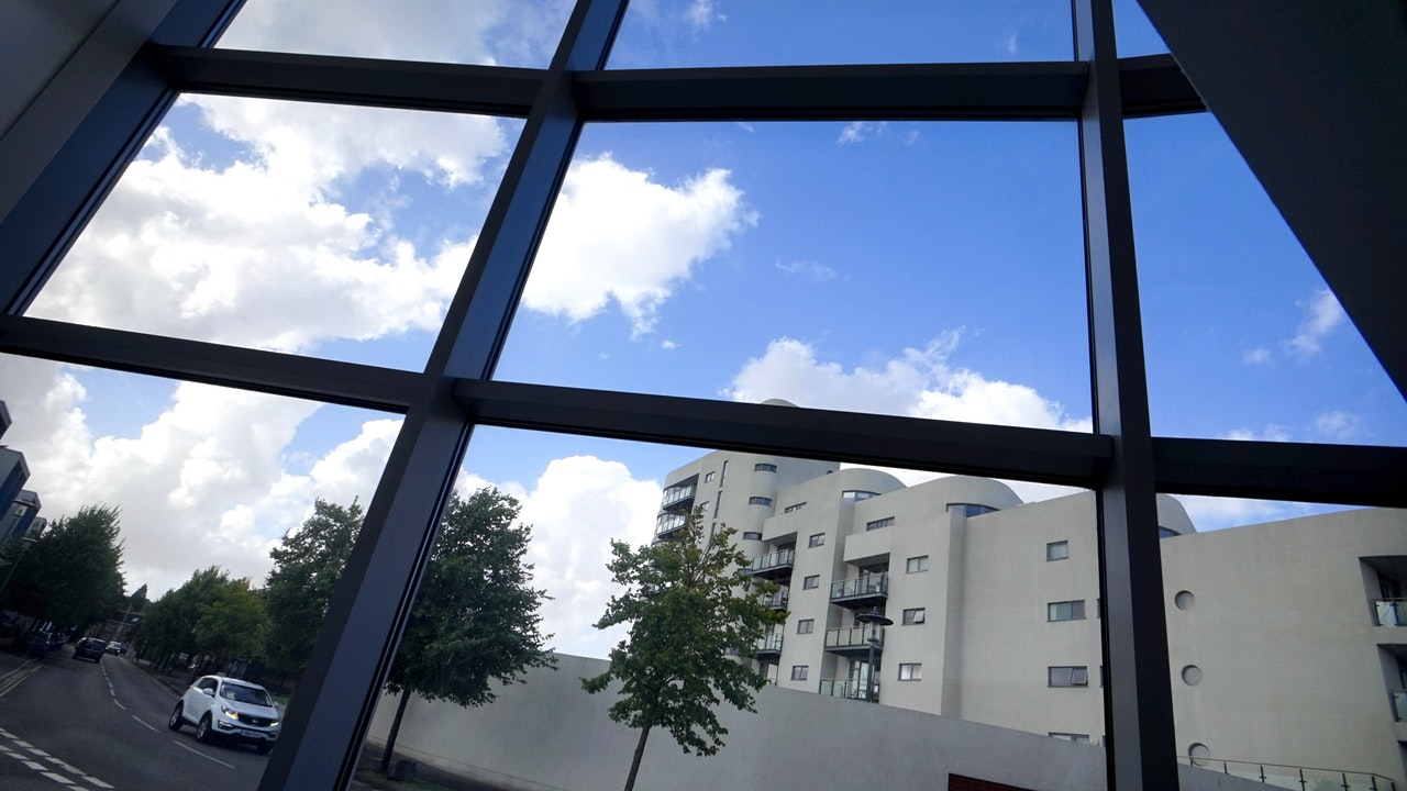 fasada aluminiowo szklana