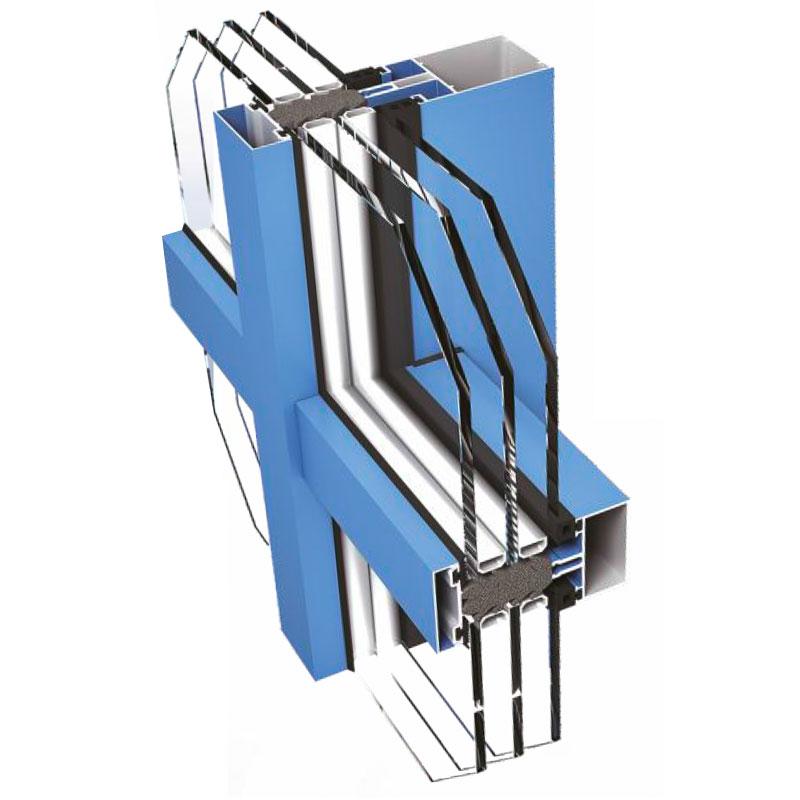 łącznik fasady aluminiowej