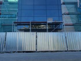 front budynku aluminiowa fasada