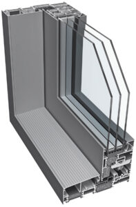 Profil systemu aluminiowego ponzio sl1700TT