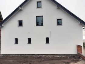 Stolarka aluminiowa w domku poniemieckim